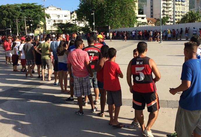fila flamengo x botafogo maracana (Foto: Ivan Raupp)