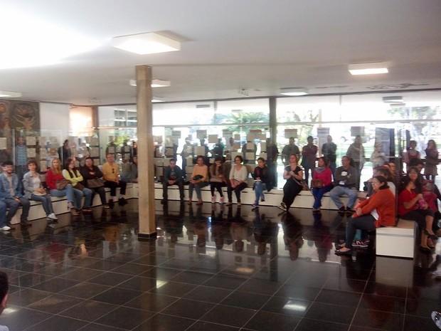 UFSCar fim greve (Foto: Sérgio Ricardo Pinheiro Nunes/Arquivo Pessoal)