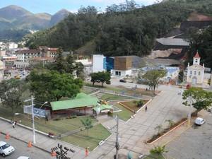 Obras de drenagem na Praça do Suspiro também foram inauguradas (Foto: Daniel Marcus/Divulgação)