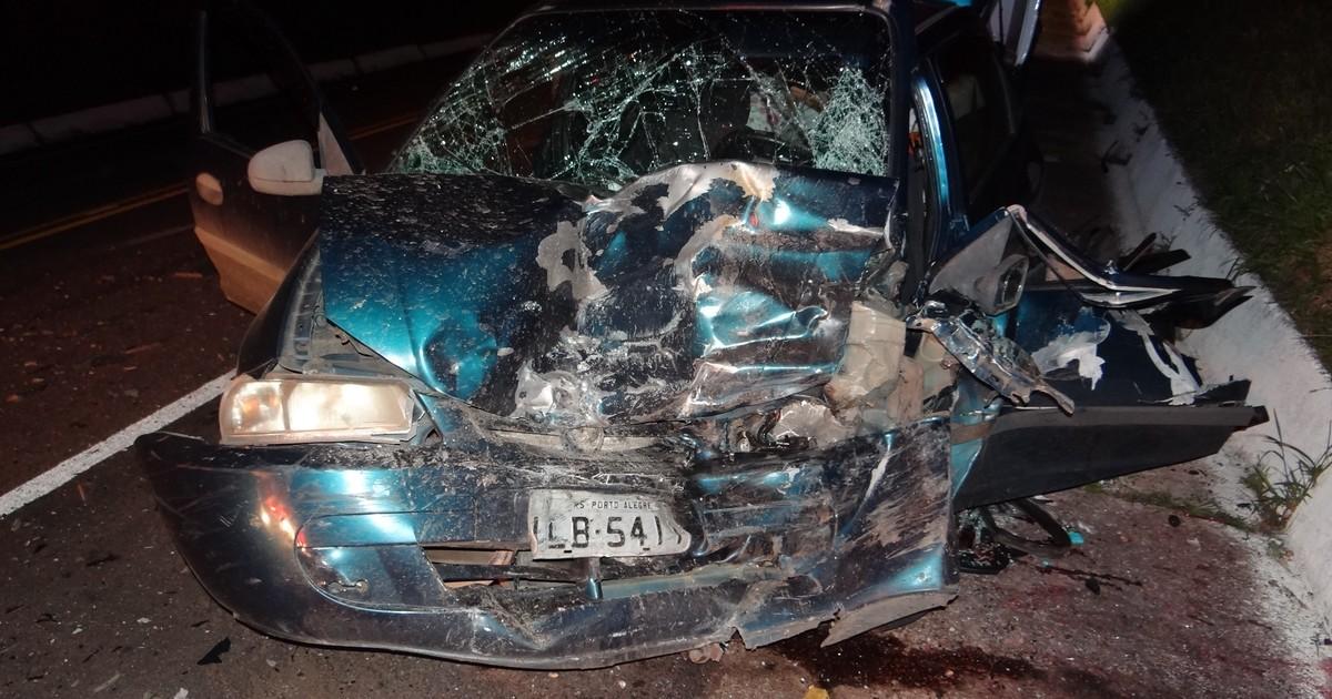 Motorista com CNH suspensa morre após colisão frontal no RS - Globo.com
