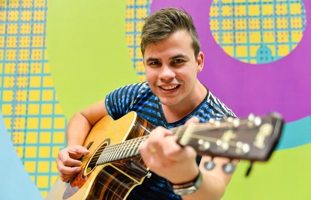 Danilo Dyba Estúdio C (Foto: Priscilla Fiedler/RPC)