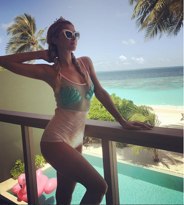 A socialite Paris Hilton (Foto: Instagram)