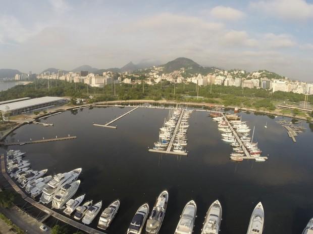 Projeto paisagístico da nova Marina da Glória é assinado pelo escritório Burle Marx, autor do projeto original do Parque do Flamengo (Foto: BR Marinas/Divulgação)