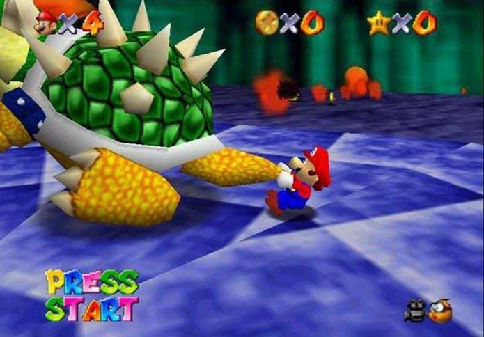 Super Mario 64 (Foto: Reprodução)