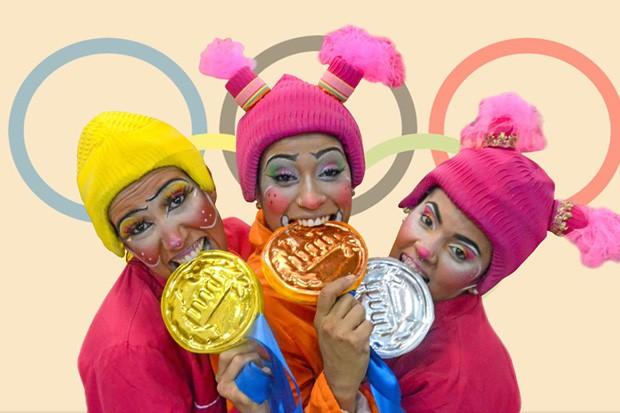 No sábado (19), o Parque Madureira recebe o espetáculo Olimpíadas Malucas (Foto: Reprodução)