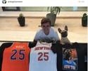 """Griezmann se rende ao New York Knicks: """"É por isso que assisto à NBA"""""""