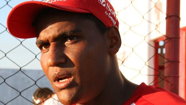Rael, atacante do Sergipe (Foto: Felipe Martins/GLOBOESPORTE.COM)
