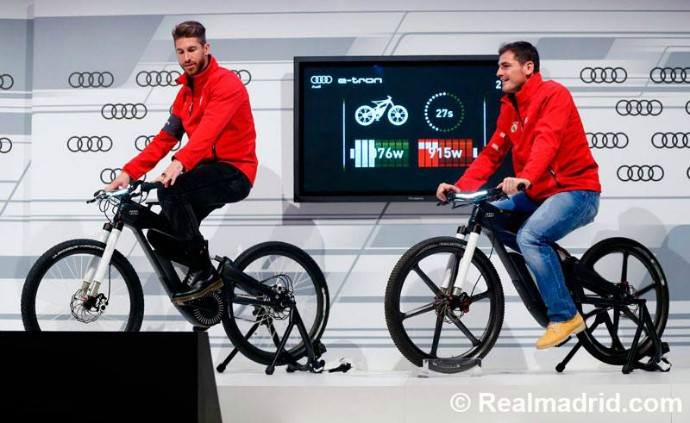 Sergio Ramos e Casillas Audi Real Madrid