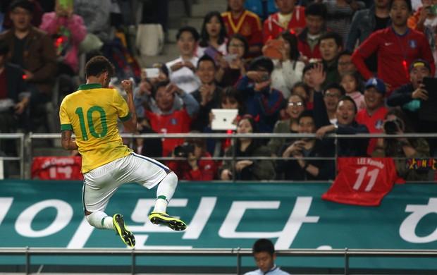 Neymar gol Brasil x Coreia (Foto: Mowa Press)