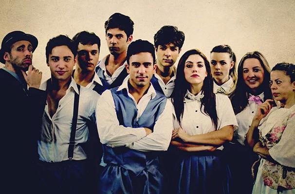 Elenco da peça reunida: musical faz temporada no Teatro APCD (Foto: Divulgação)