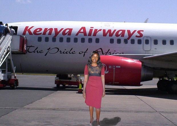 A foto em que anunciou o começo de sua 'viagem' (Foto: BBC/Seve Gat)