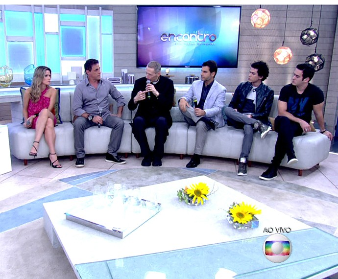 Padre relata momentos em que teve depressão (Foto: TV Globo)