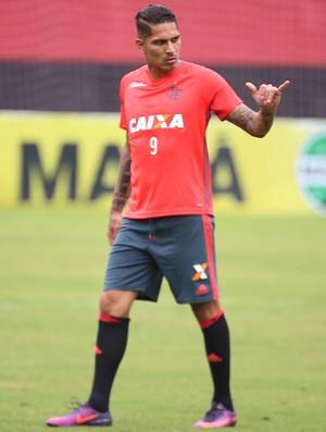 paolo guerrero (Foto: Gilvan Souza - Divulgação, Flamengo)