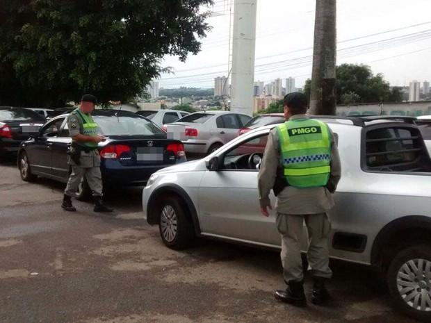 SSP-GO diz que policiais militares trabalham normalmente, em Goiás (Foto: Divulgação/SSP-GO)