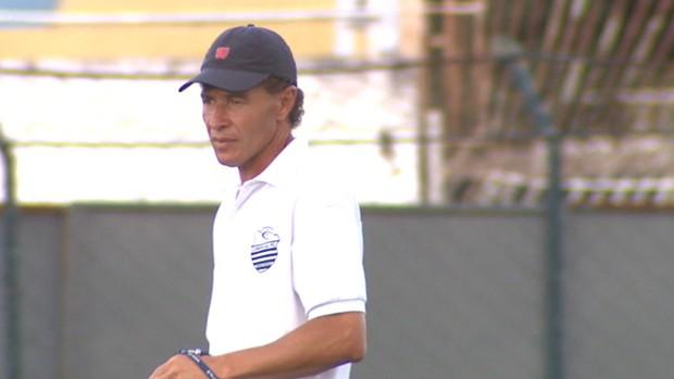 Gil Baiano, técnico do Comercial (Foto: Reprodução EPTV)