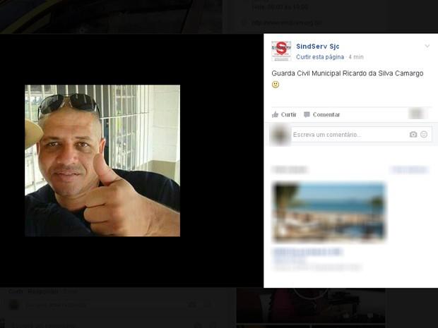 Guarda Civil é morto em troca de tiros no Parque da Cidade em São José (Foto: Reprodução/ Facebook)