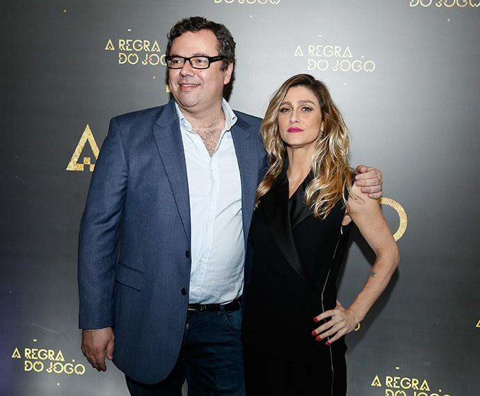Juntos novamente! A diretoa de núcleo Amora Mautner e o autor João Emanuel Carneiro fazem a mesma dobradinha de Avenida Brasil (Foto: Raphael Dias/TV Globo)