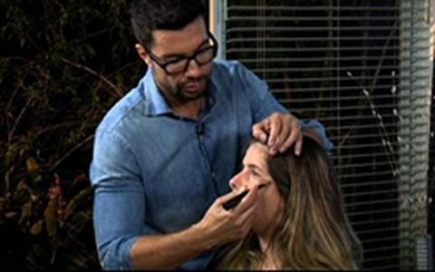 Fernando Torquatto ensina a alongar o rosto com maquiagem