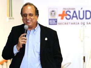 O vice-governador Luiz Fernando Pezão assume a nova Coordenadoria Executiva de Projetos e Obras de Infraestrutura (Foto: Marino Azevedo/Governo do RJ)