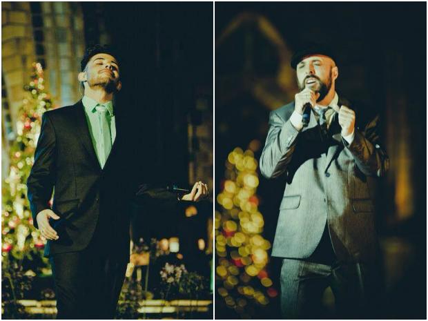 """Mohd e Souza em ação no espetáculo """"Simplesmente Natal"""" (Foto: Sergio Azevedo/Divulgação)"""