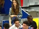 Ronaldo Fenômeno e Kaká assistem a torneio de tênis em Madri