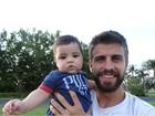 Shakira posta foto fofa do filho com Gerard Piqué