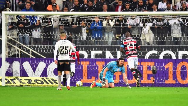 Resultado de imagem para Corinthians x Santa Cruz