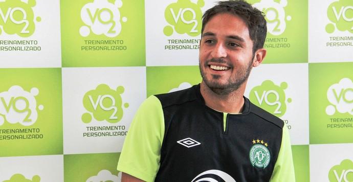 Régis Chapecoense (Foto: Diego Carvalho/Aguante/Chapecoense)