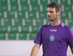 Rodolfo Testoni lateral Guarani (Foto: Reprodução / EPTV)