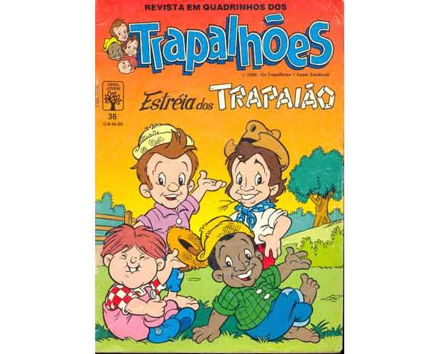 Gibi dos Trapalhões (Foto: Reprodução / internet)