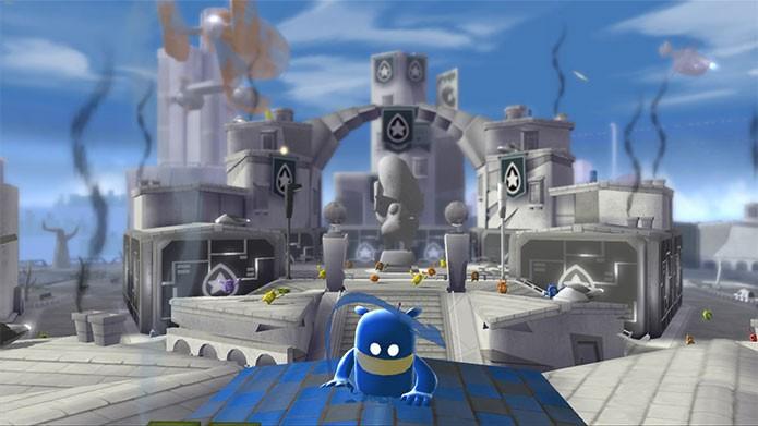 de Blob 2 mistura quebra-cabeças com criação de objetos (Foto: Divulgação)