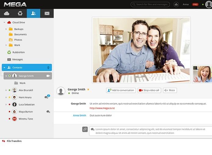 Serviço oferece chat por vídeo e voz encriptografados (Foto: Reprodução/André Sugai)