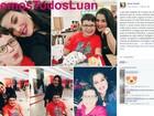 Campanha pede próteses de silicone para menino que perdeu pernas