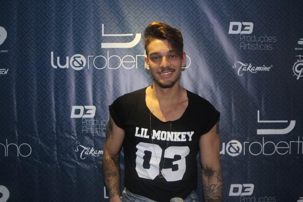 Lucas Lucco em show em São Paulo (Foto: Thiago Duran/ Ag. News)