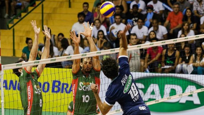 Campinas x Cruzeiro Superliga masculina volei (Foto: Gabriel Inamine / Vôlei Brasil Kirin)