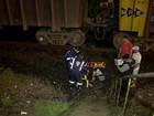 Pedestre é atingido por trem em Juiz de Fora