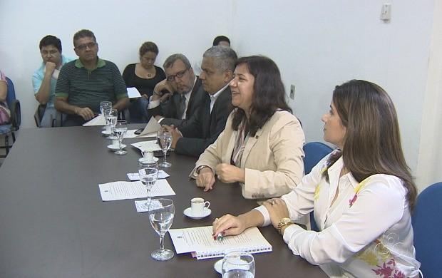 Encontro reuniu representantes de serviços de hotelaria, transporte, bares e restaurantes (Foto: Bom Dia Amazônia)