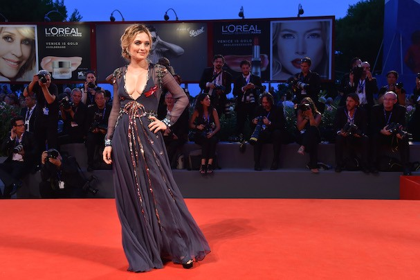 Carolina Crescentini no Festival de Cinema de Veneza (Foto: Getty Images)