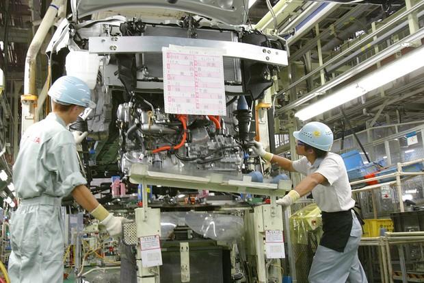 Fábrica da Toyota no Japão (Foto: Divulgação)