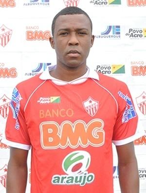 Zagueiro Rodrigão, do Rio Branco (AC) (Foto: Divulgação/ assessoria de imprensa Rio Branco FC)