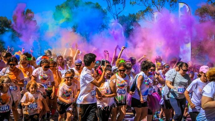 Run or Dye (Foto: Divulgação/WGF Eventos)