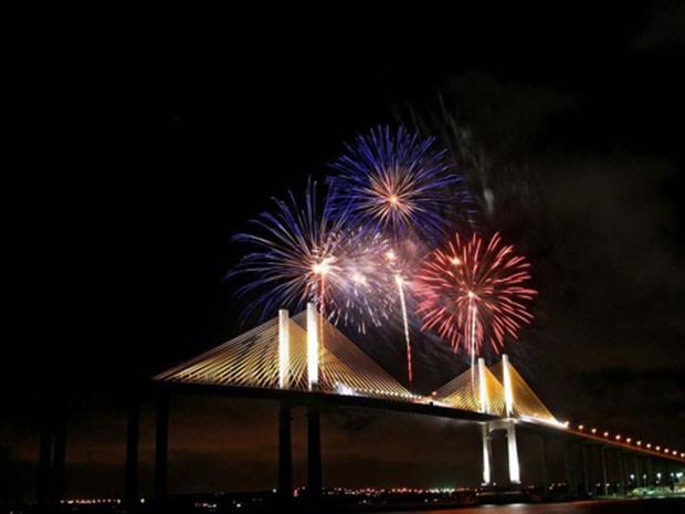 Queima de fogos acontecerá em duas praias de Natal (Foto: Canindé Soares)
