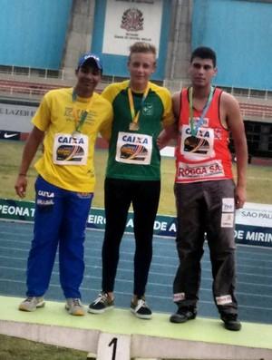 Charles Cristofy atletismo Osvaldo Cruz (Foto: José Pedro dos Santos / Arquivo Pessoal)
