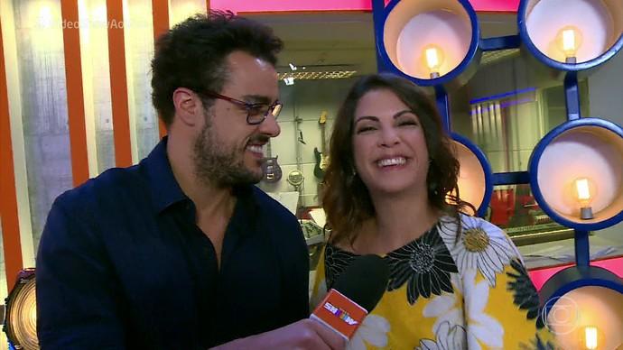 Thalita Rebouças mostra bastidores do 'The Voice Kids' (Foto: Isabella Pinheiro/Gshow)