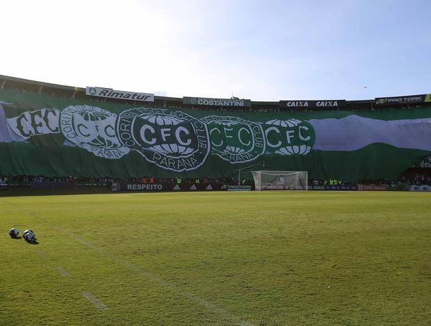 Coritiba bandeirão Couto Pereira Atletiba