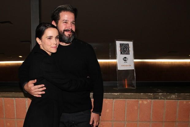 Débora Falabella e Murilo Benício (Foto: Manuela Scarpa/PhotoRio News)
