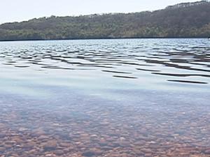 Motos aquáticas se chocaram em represa (Foto: Reprodução/TV Integração)
