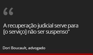 Recuperação judicial da Oi (Foto: G1)