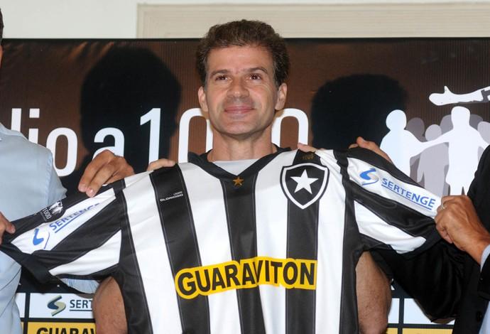tulio maravilha botafogo (Foto: Alexandre Durão/Globoesporte.com)
