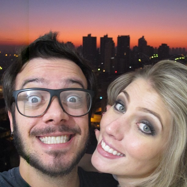 Max Porto e Ariane Cerqueira (Foto: Reprodução/Instagram)